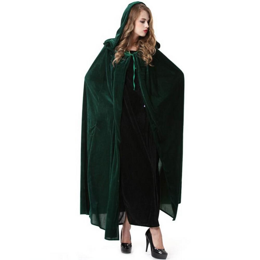 Adult Hollween Cosplay Dress Witch Cloak Cosplay Costume Party ...