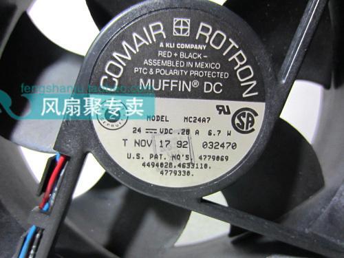 Originele Comair Rotron MC24A7 12cm 120 * 120 * 32mm 24 V 0.28A 6.7W Koelventilator
