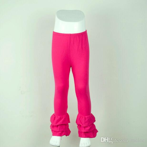 2015 nouvelles filles pantalon à volants hiver enfants coton confortable enfants bonbons solides leggings filles pantalons 0-12T bébé filles pantalon à volants