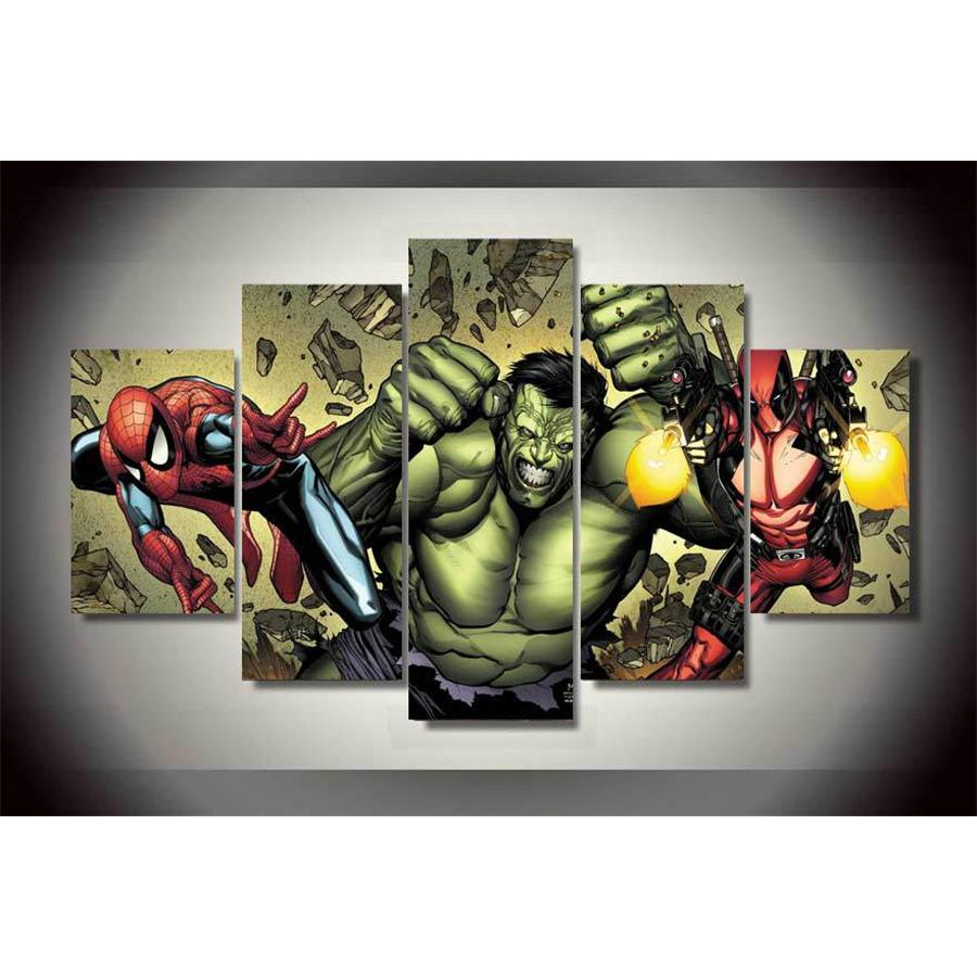 2018 Comics The Avengers,Home Decor Hd Printed Modern Art Painting On  Canvas Unframed/Framed From Xianghuichun, $15.38 | Dhgate.Com