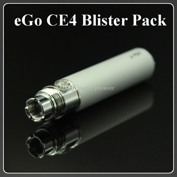 eGo Blister kit electronic cigarette starter kits with CE4 atomizer and 650 900 1100 mAh ego t battery Various colors DHL