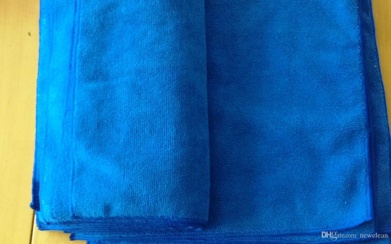 الجملة 10 قطع 30x30 سنتيمتر ستوكات تنظيف القماش مجهرية المطبخ منشفة مسح الغبار الخرق المناشف السحرية صحن القماش