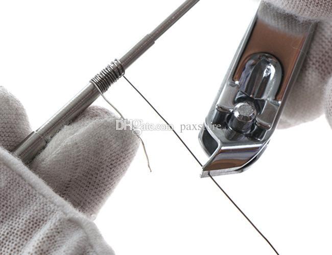 마이크로 코일 지그 마스터 코일 도구 마이크로 코일 윅 지그 5 in 1 스크루 드라이버 코일 권선기 DIY RDA RBA 재건 가능한 원자로