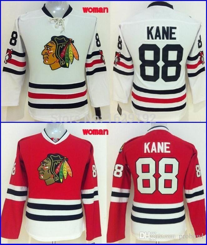 3f5463615 New Arrival 2015 Winter Classic ChicagoBlackhawks Jerseys Mens 88 Patrick  Kane Home Red Road White Ice Hockey Jerseys Cheap UK 2019 From Probowl