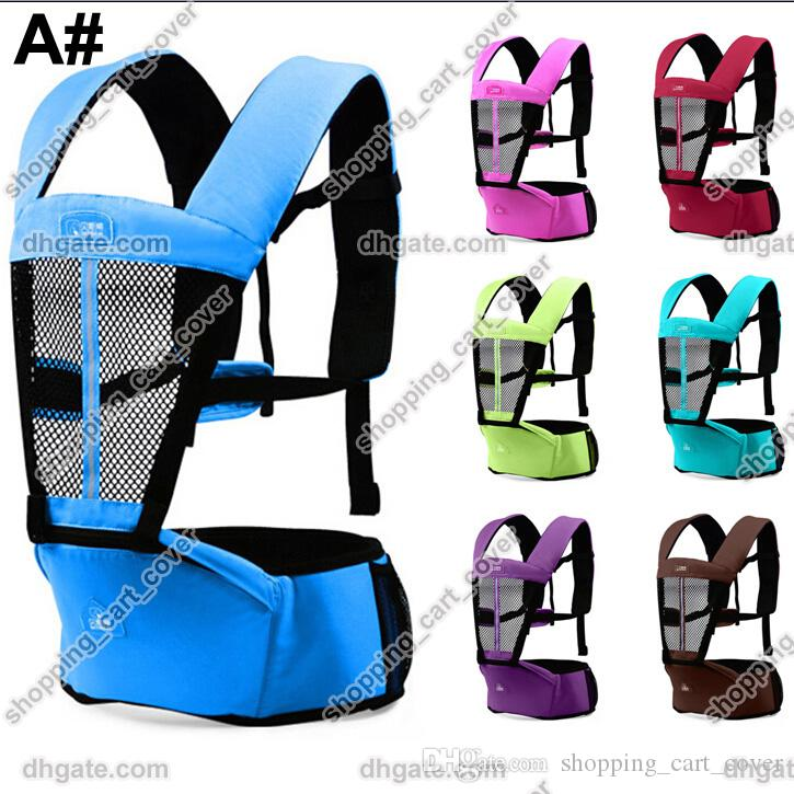 09ac0482825 2019 Baby Kids Infant Toddler Newborn Safety Hipseat Hip Seat Front Carrier  Wrap Belt Sling Hugger Rider Harness Strap Support Comfort Backpack From ...