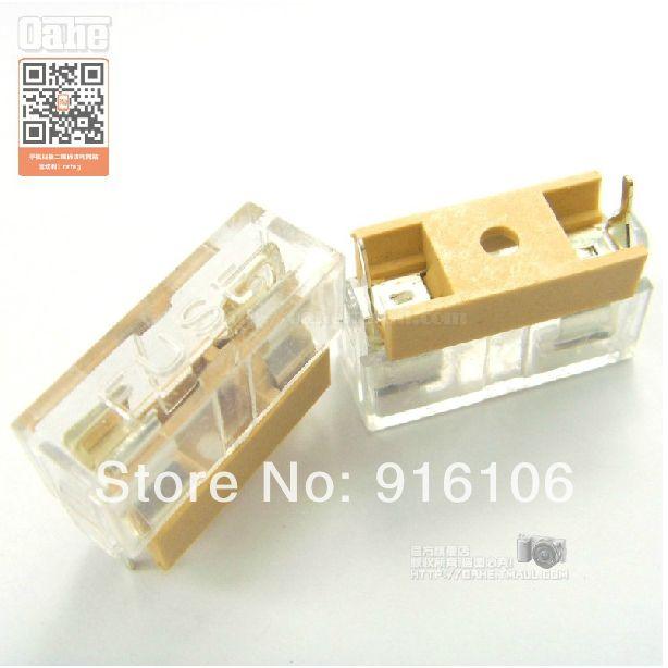 2018 wholesale fuse holder with transparent lid 5 20 fuse glass rh dhgate com