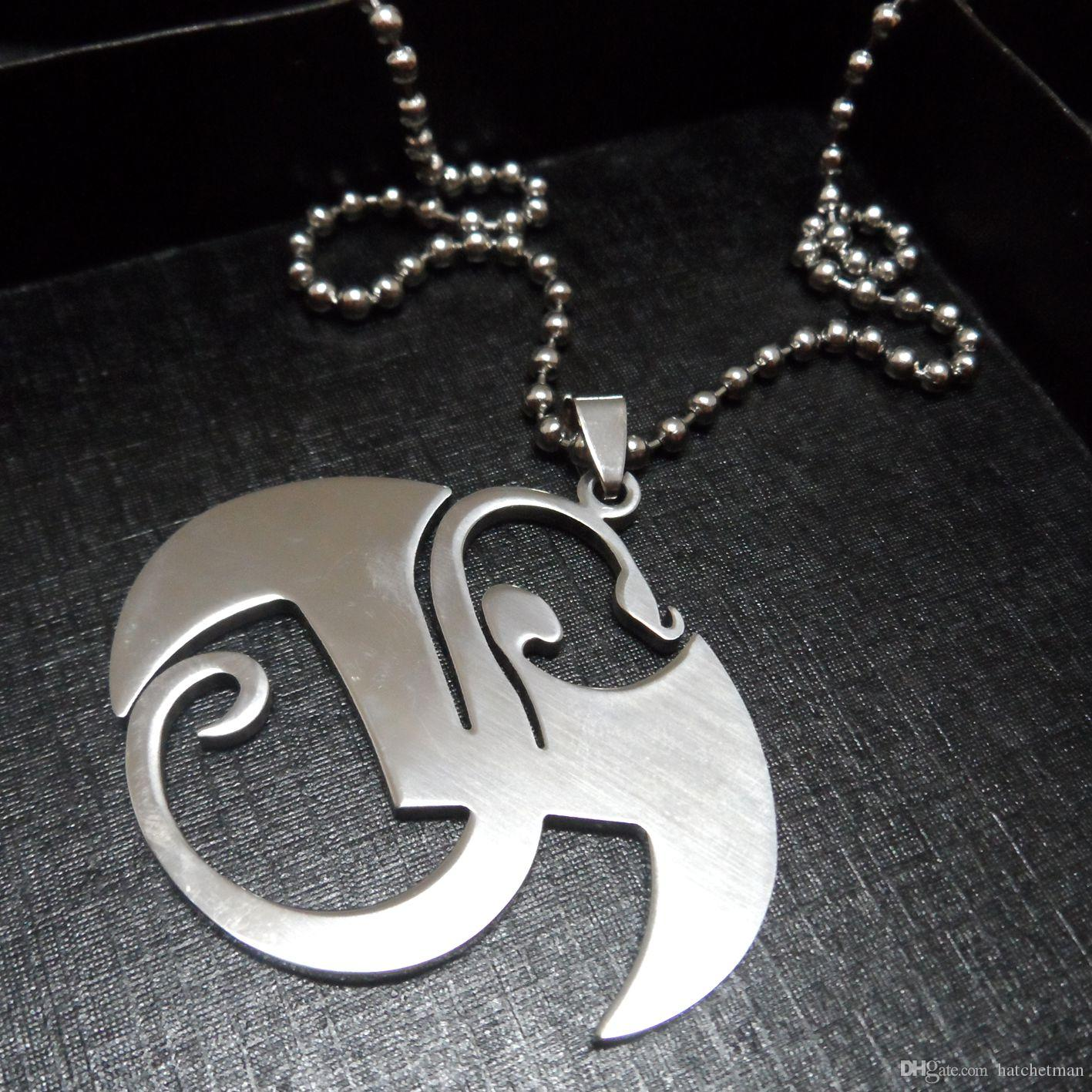 Wholesale large strange music charms stainless steel pendant wholesale large strange music charms stainless steel pendant necklace silver men jewelry garnet pendant necklace aquamarine pendant necklace from mozeypictures Choice Image