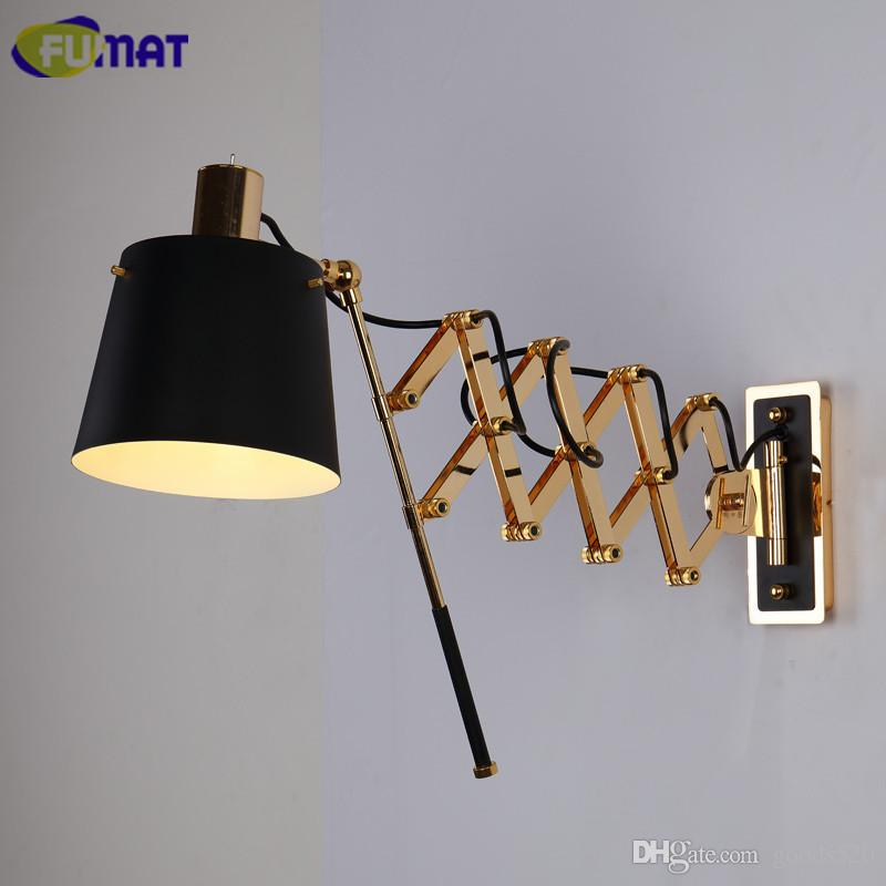 2018 fumat flexible wall lamps american black wall light fixture 2018 fumat flexible wall lamps american black wall light fixture living room bar corridor art deco sconce modern bathroom wall lamp from goods520 mozeypictures Image collections