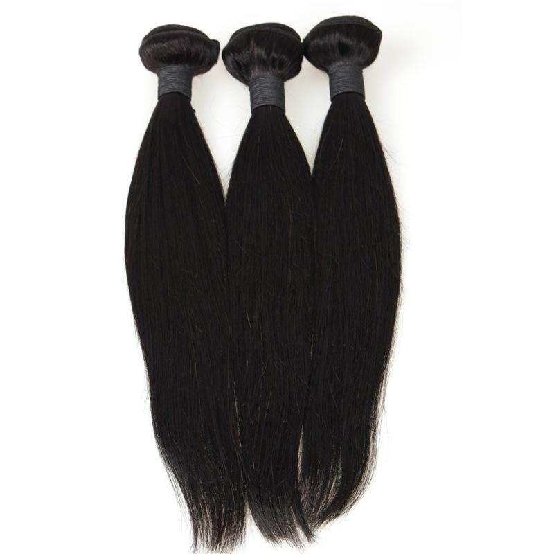Cheap Price Hair Extensions Silky Straight Hair Wefts Can Be Dyed