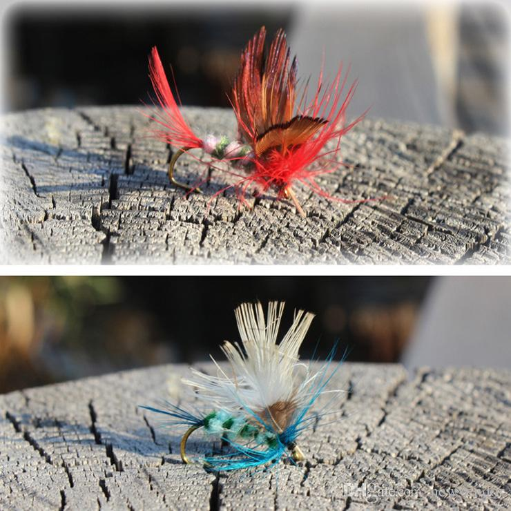 Fast via DHL Fly Fishing Flies Trout Bass Fly Fishing Lure Baits with Hook Fishing Lures