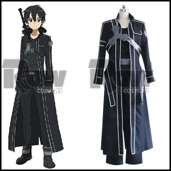 Anime Characters For Sale : Hit janpanse anime sword art online kirito costumes for