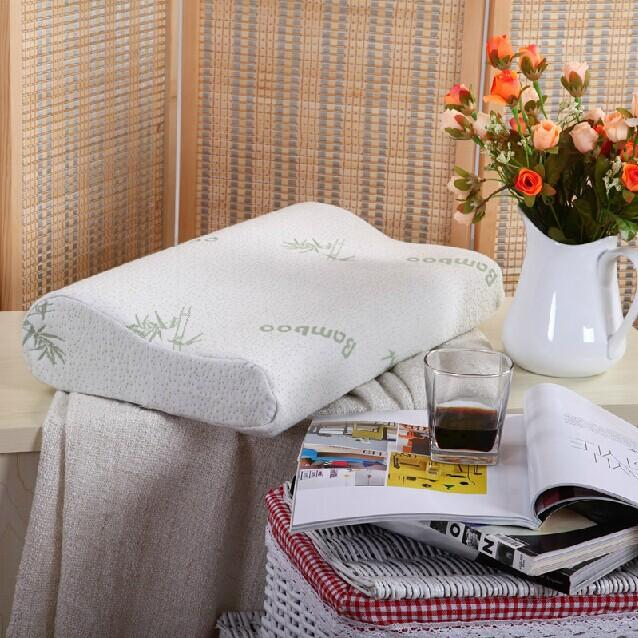 3 sizes bamboo pillowcool comfort ultra plush bamboo memory foam hotel quality pillow stay cool bamboo zipper cover