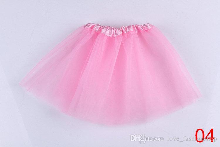 Baby Girls Candy color christmas Pleated Tutu Skirts Children Ball Gown Ballet Dance Dresses Pettiskirt Dancewear kids clothes