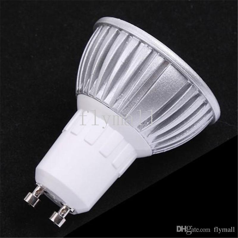 10 veces más alta potencia GU10 3x3W 9W 110V 220V regulable bombilla de la lámpara LED Downlight llevó el bulbo caliente / puro / blanca fría