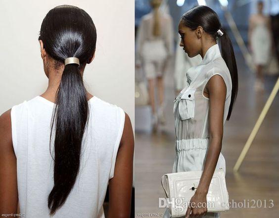 Coda di capelli coda di cavallo parrucchino capelli umani europea Remy coda di cavallo capelli umani estensioni coda di capelli umani coda di cavallo naturale