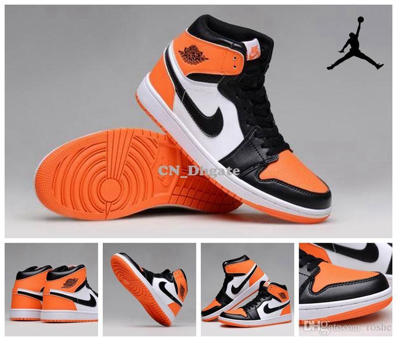da369e214b548 Nike Air Jordan 1 Retro OG High Shattered Backboard Mens Basketball Shoes