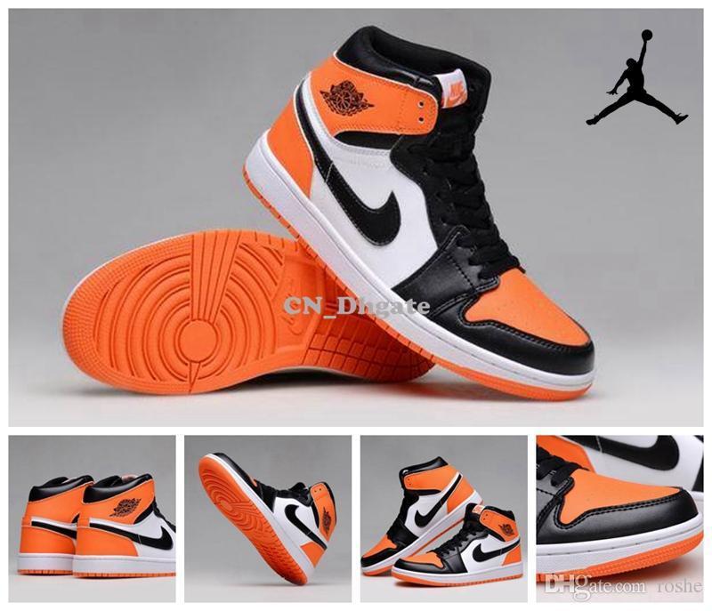 best service 9052f c44ee Großhandel Nike Air Jordan 1 Retro OG Hoch Zerschmetterten Backboard Herren  Basketball Schuhe, Nagelneues AJ1 Retro 1 Sneakers J1s 41 47 Von Roshe, ...