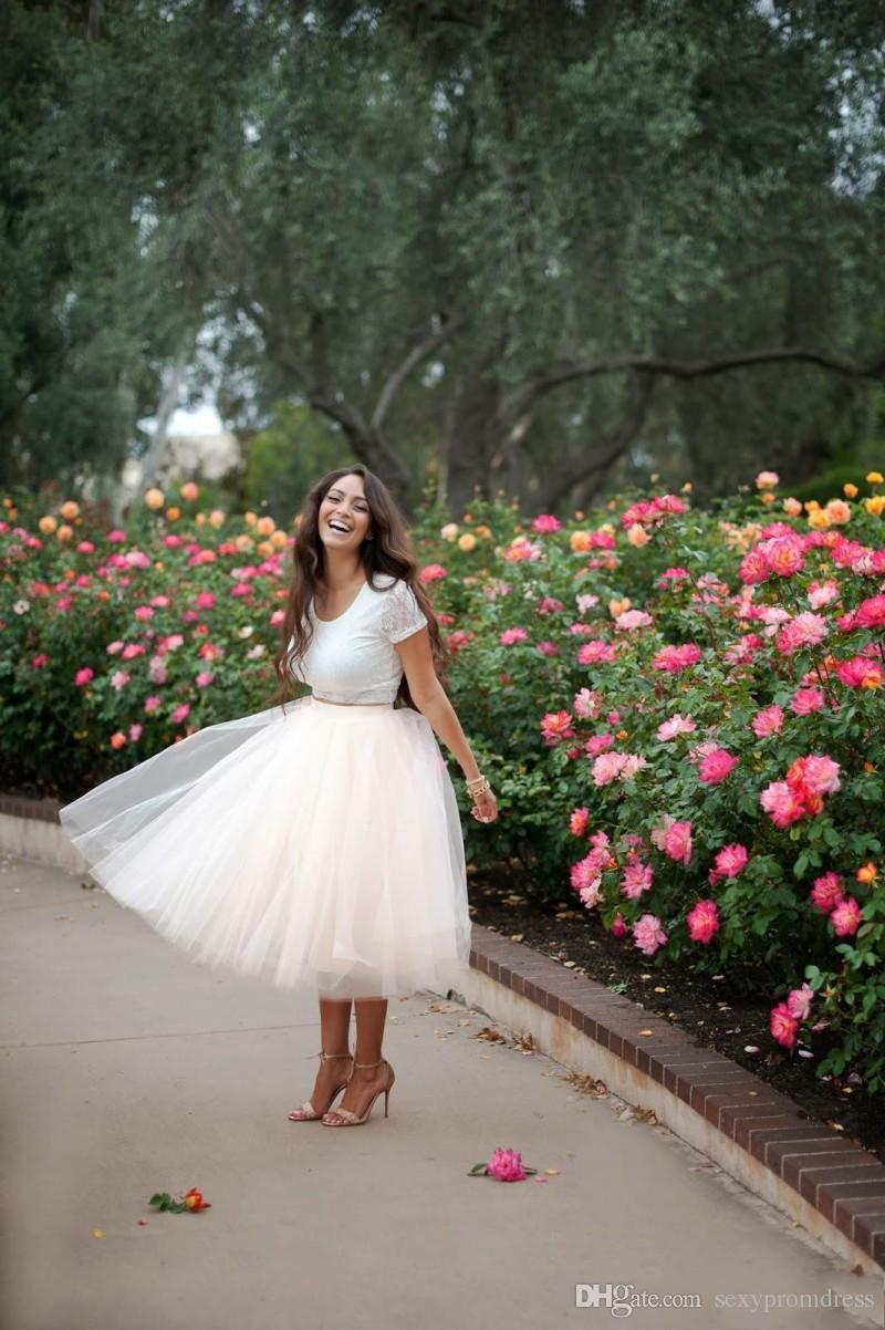 2015 blush rosa tulle gonne abito da ballo personalizzato gonne da donna lunghezza del tè molti strati abiti da festa gonne economiche con elastico in vita plus size
