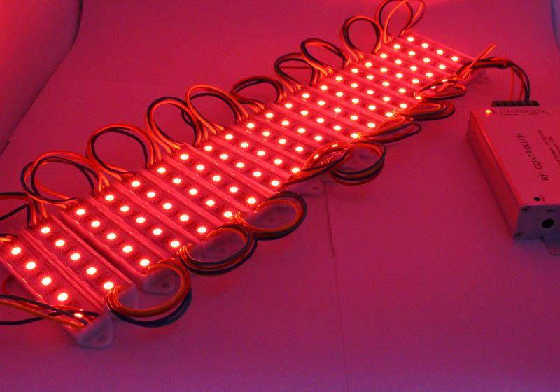 MJJC 5050 SMD 5LEDs Módulo Lámpara de luz impermeable blanca para diseño de carta, 2 años de garantía