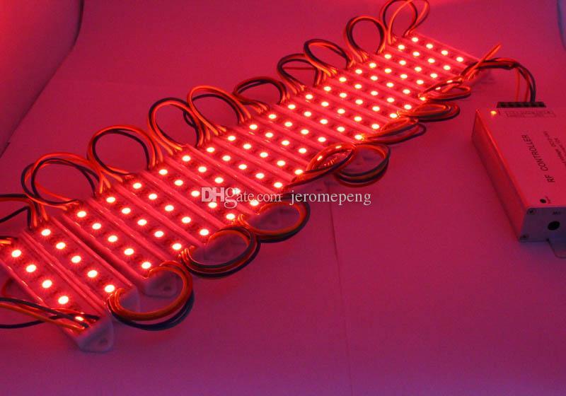 MJJC 5050 SMD 5LEDs Modülü Beyaz Su Geçirmez Işık Lamba için mektup tasarımı, 2 yıl garanti