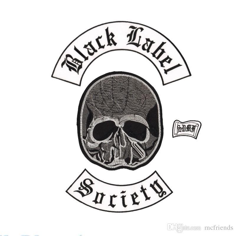 Compre Excelente Black Label Society Hierro Bordado En Parches Para ...
