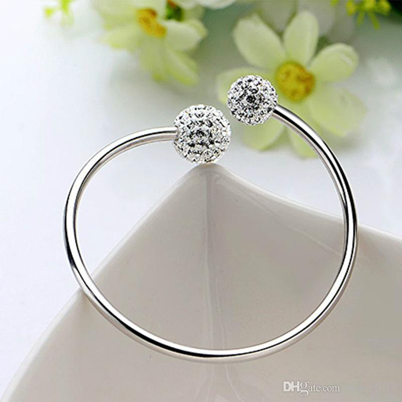 You come from the stars of Sterling Silver Bracelet Silver Bracelet female Korean S925 Valentine's Day gift to send his girlfriend a gift