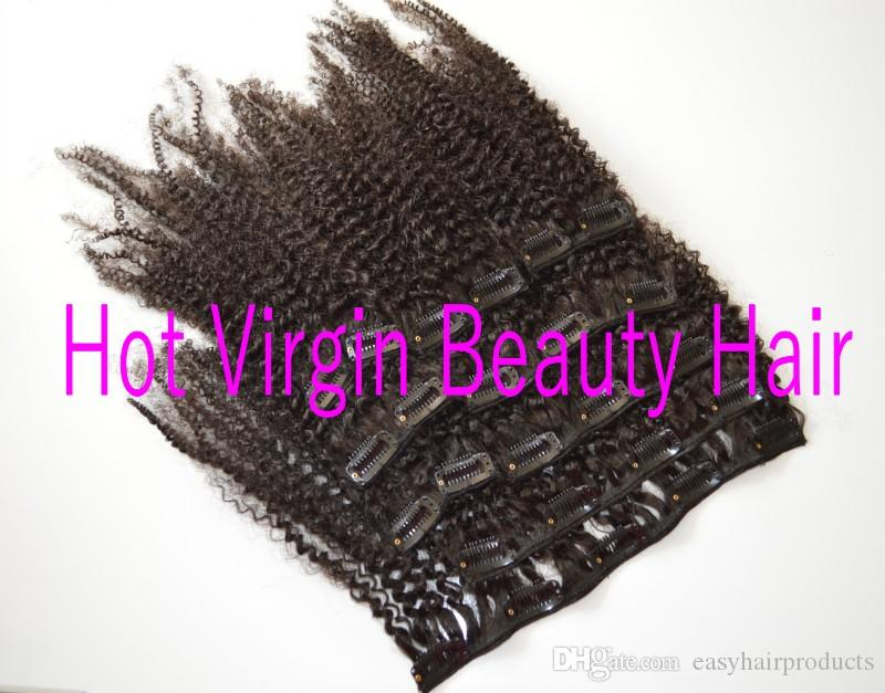 4a / 4b / 4c 3a / 3b / 3c 몽골어 처녀 아프리카 곱슬 곱슬 머리 afro african american 저렴한 머리핀 G-EASY 클립