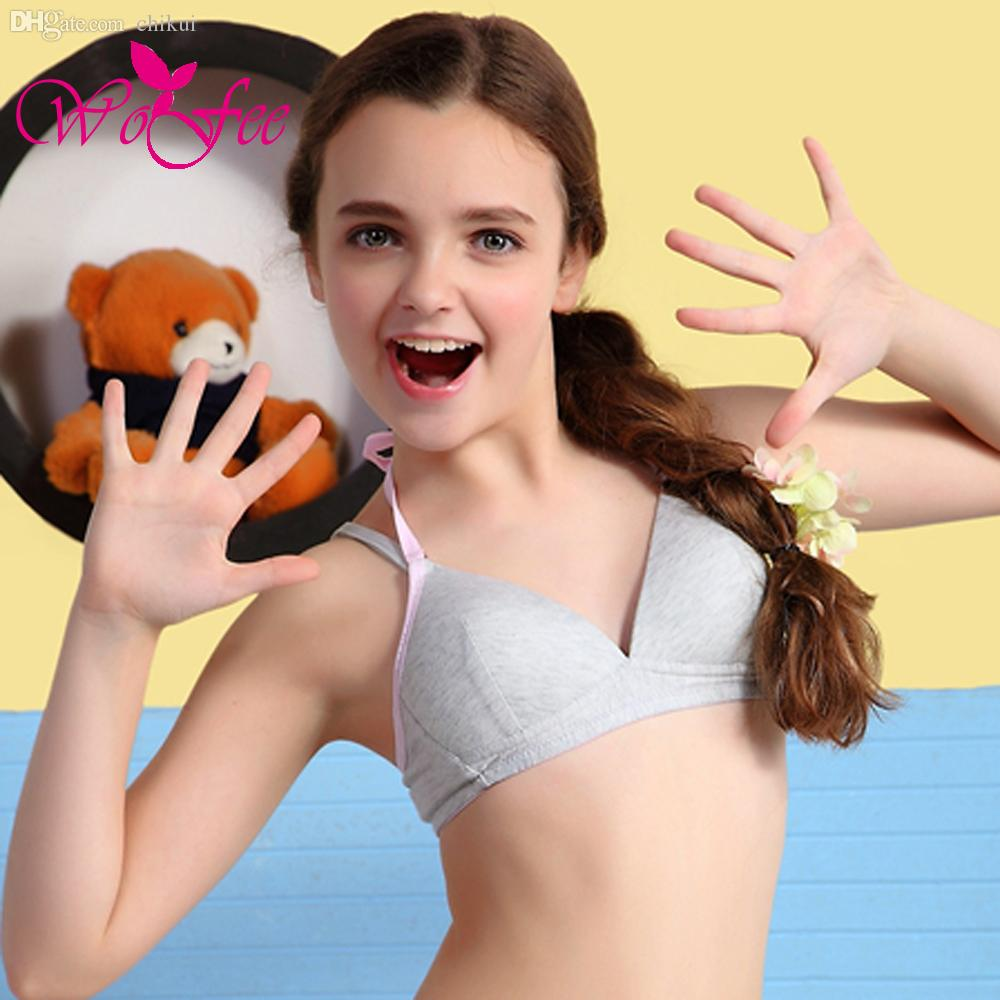 Wholesale Wofee 2015 All New Young Girl Bra 12 18 Years Ago Young Girl  Wireless Push Up Bras 0725 Kids Boy Underwear Toddler Girls Underwear From  Chikui, ...