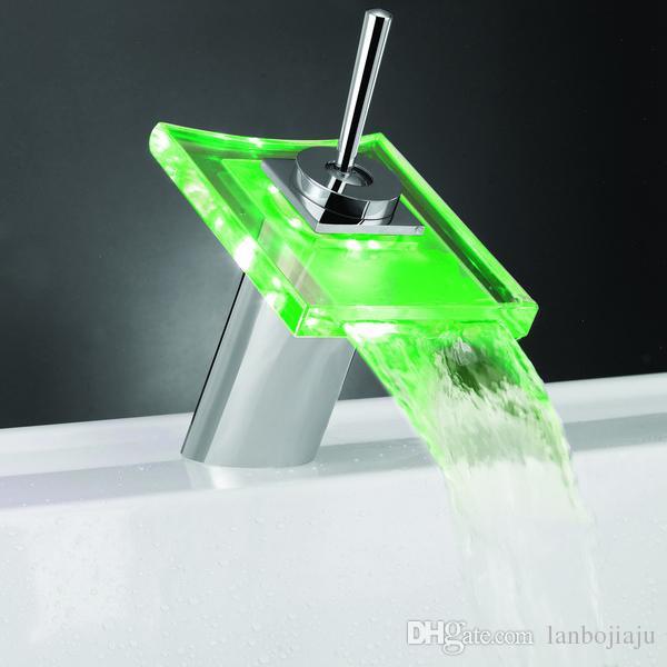 Home Fantastic Used Light Led Bathroom Basin Faucet Brass - Used bathroom faucets
