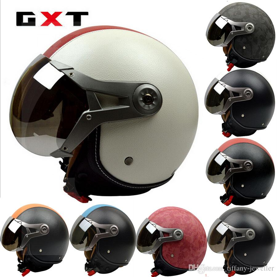 Gxt Motorcycle Helmet Electric Bicycle Helmet Half Face