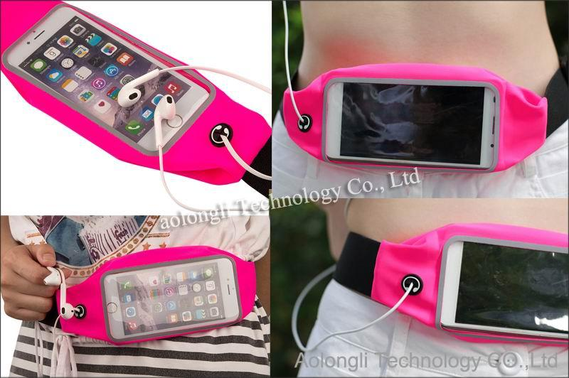 جيوب رياضية مضادة للماء لهواتف ايفون 5S / 6S / S / S / S / S