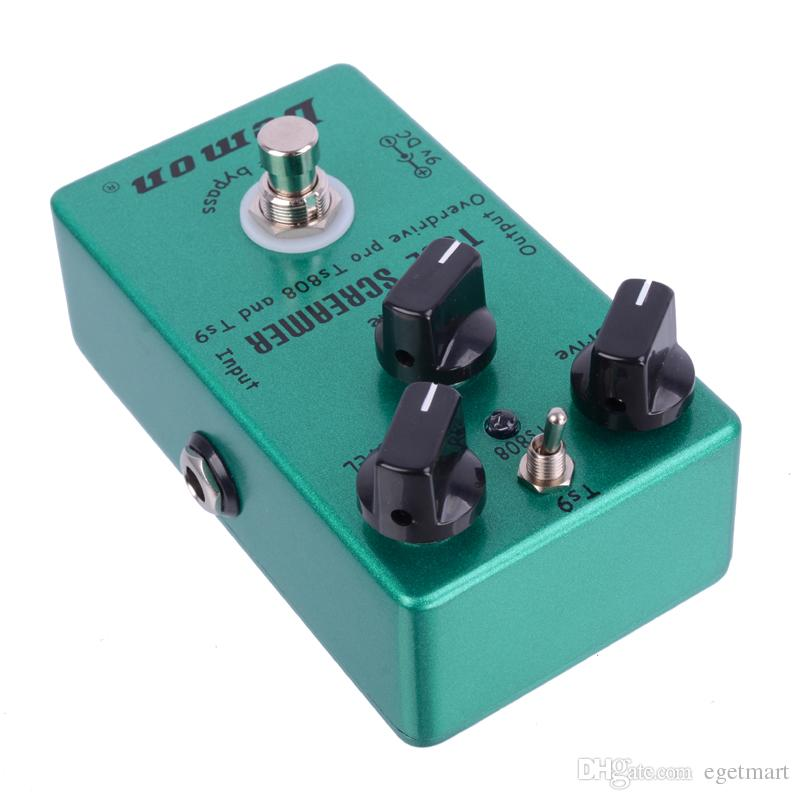 Гитары педаль эффектов Овердрайв Винтаж Демон TS808 электрическая гитара педаль Бесплатная доставка MU0371
