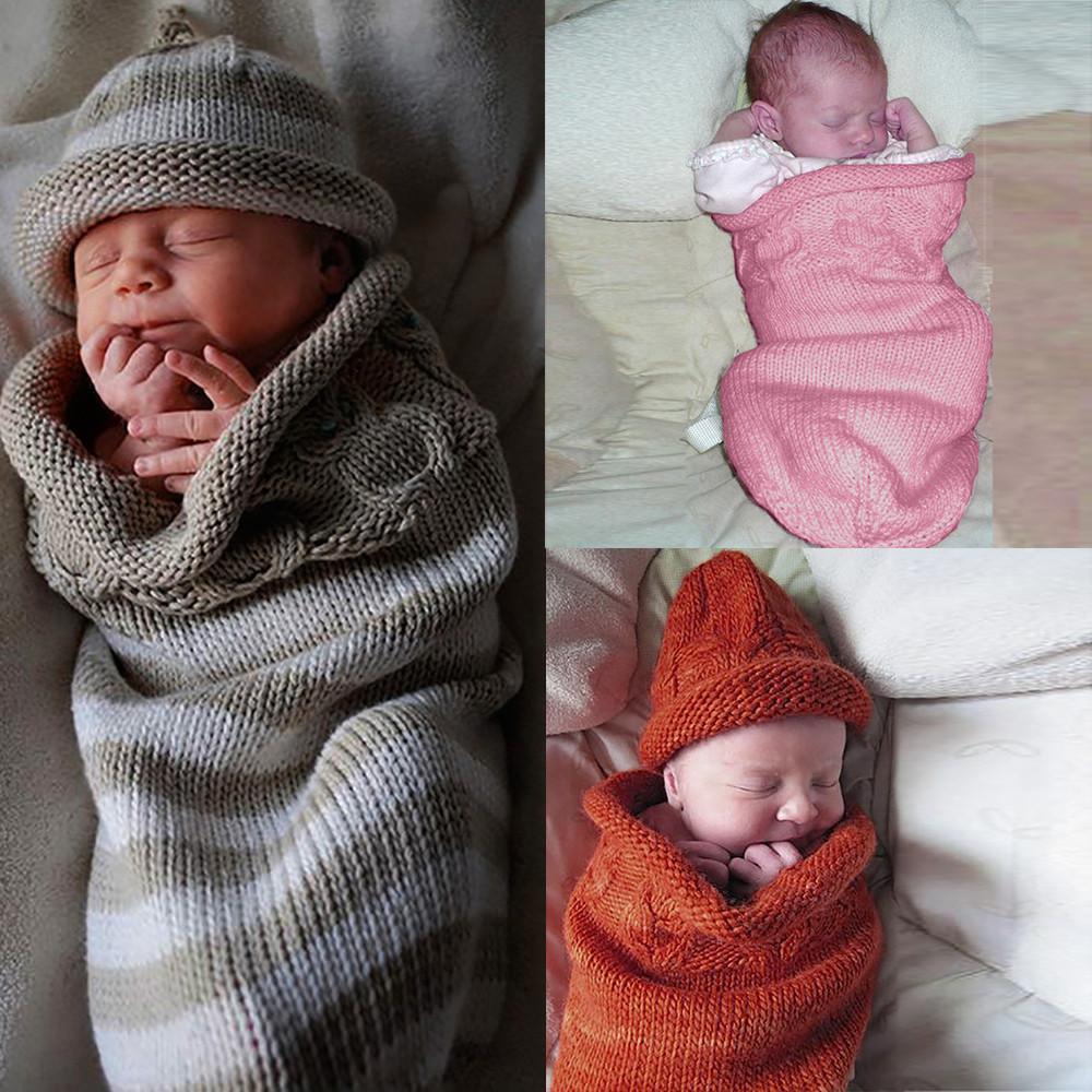 Wholesale Newest Winter Keep Warm Newborn Baby Blanket Swaddle