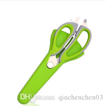 kitchen scissors knife for fish chicken household stainless steel multifunction cutter shears cooking tools F-103