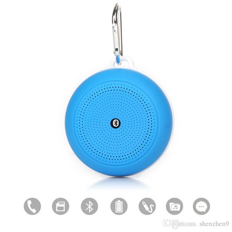 Q3 Speaker Bluetooth Wireless Hand Free Mini Portable Music Player Support FM Radio TF Card DHL Free MIS096