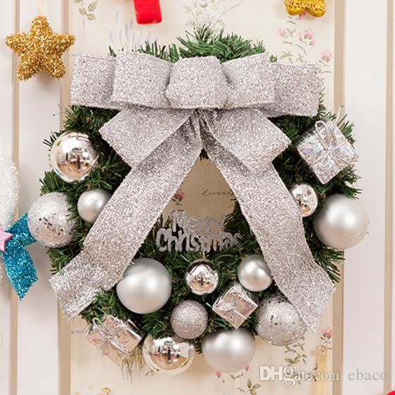 Creative Multi Christmas Wreath Store Door Hanging Wall Window ...