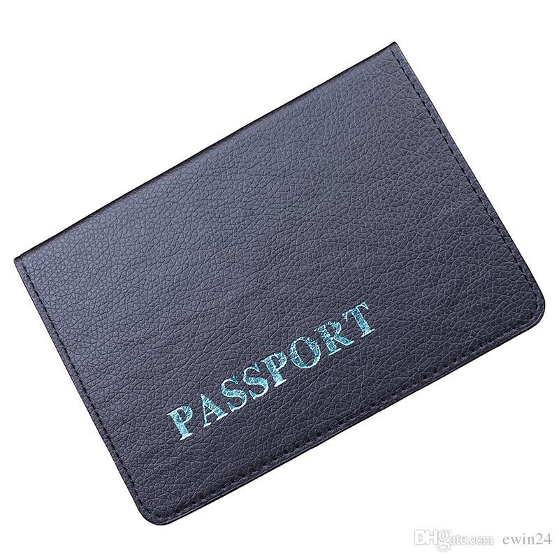 X Bloqueo de RFID de viaje Folio Pasaporte Tarjeta de débito de crédito Organizador de documentos de viaje Estuche para billetera Titular de ID multifunción