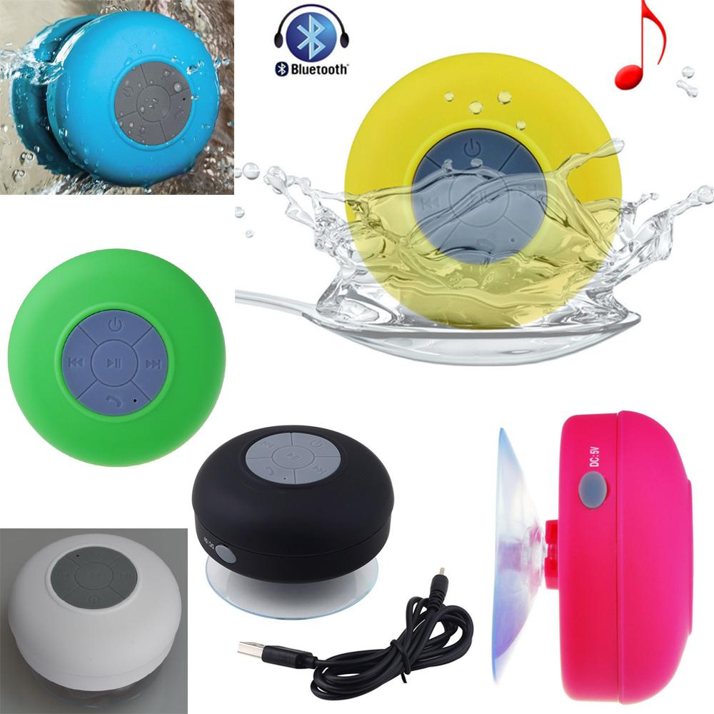 2019 waterproof bathroom shower speaker car bluetooth - Waterproof sound system for bathroom ...