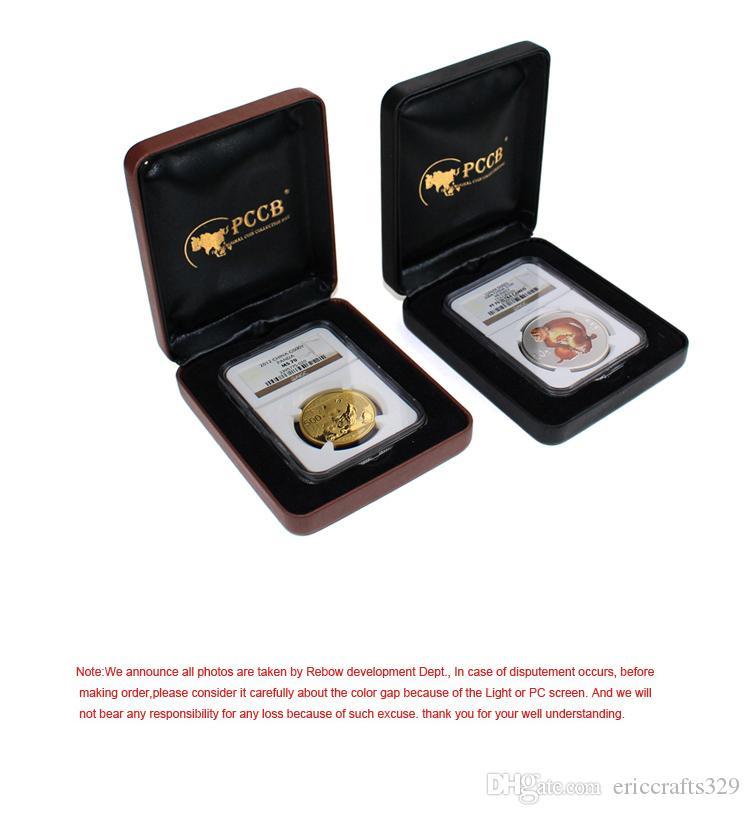Горячие продажи регулярные оптовые 100% акриловые Роман прямоугольник монета изысканный чехол 1 комплект определить подарочная коробка груза падения