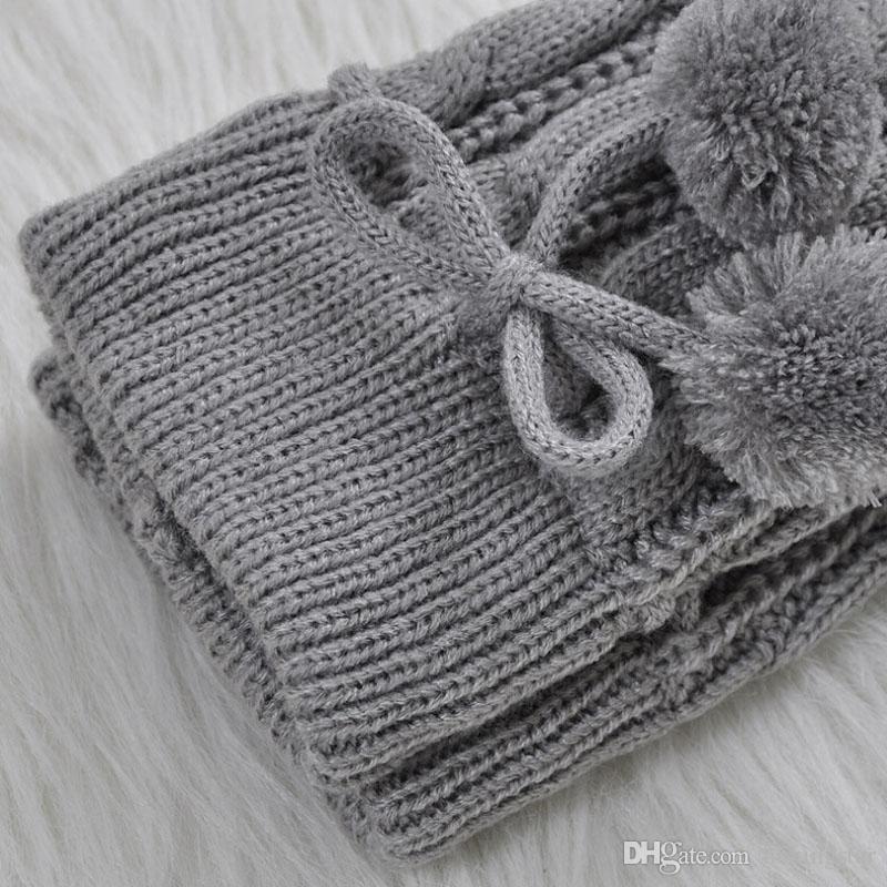 Mode Hiver Femmes Sur Genou Haut Twist Jambières Chaud Tricot De Laine Crochet Legging Couverture Bas Long es / Livraison Gratuite