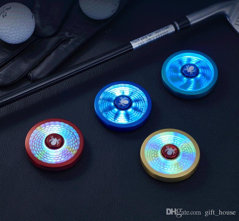 Novo Capitão Fidget Spinner Isqueiro LED Spider-Man Mão Spinner Isqueiro Liga De Alumínio Colorido Carregamento USB Fidget Spinner Presente