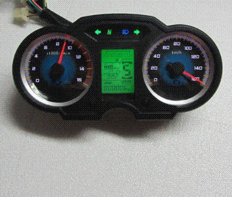 gro handel motorrad tachometer tachometer tankanzeige. Black Bedroom Furniture Sets. Home Design Ideas