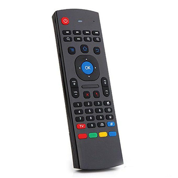 X8 Air Fly Mouse MX3 2.4GHz Clavier sans fil avec rétroéclairage Somatosensory IR télécommande sans micro pour Android TV Box Smart Backlight