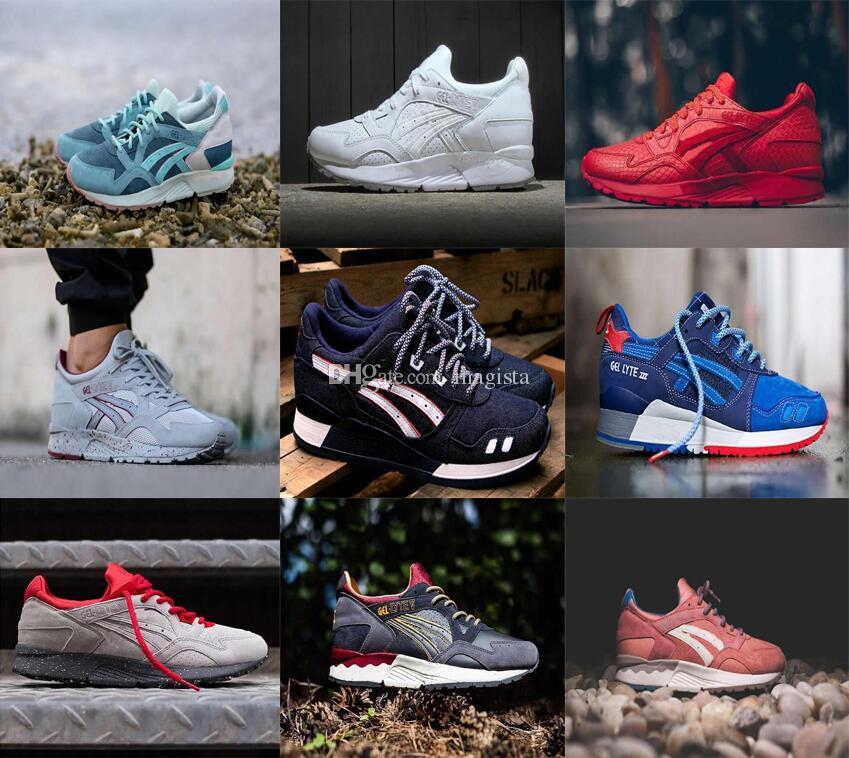 New Arrive 2017 Gel Lyte V 5 iii 3 Men Women Casual shoes generation Sport sneakers Outdoor Saga Walking Athletic Size EUR 36-44 really cheap price z6y9mVImw