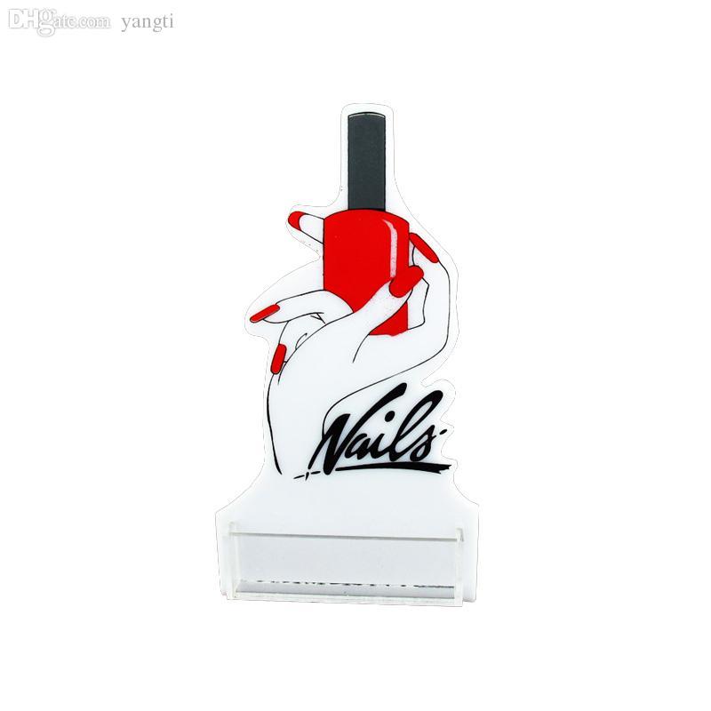 Wholesale-Nail Salon Use Nail Technician Card Holder, Business Card ...