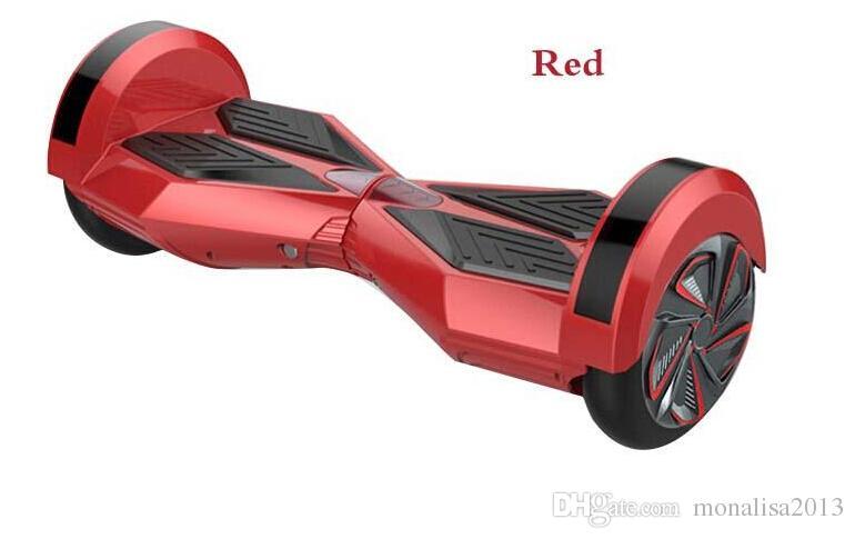 Ruedas de equilibrio inteligente 8.5 pulgadas Auto equilibrio Scooters eléctricos 36V Scooter de dos ruedas con hoverboard Bluetooth hoverrax 4.4AH