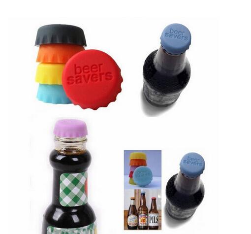 Silicone Bottle Caps Tops Wine Beer Caps Saver/Custom Beer Bottle Lids Silica Gel Cover Caps