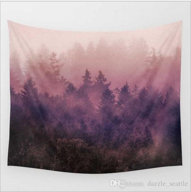 Möbel & Wohnen Bettüberwürfe & Tagesdecken Tapestry Usa Herbst Blätter Decke Wandbehang Plaid