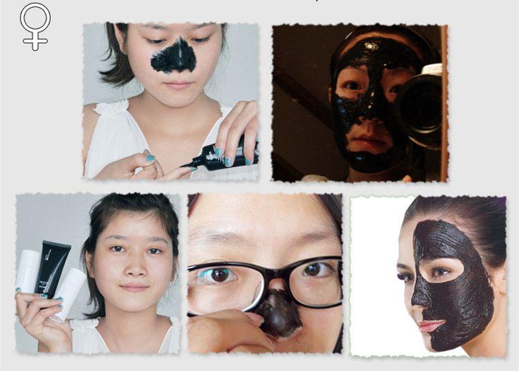 Ücretsiz Kargo PILATEN Siyah Nokta Remover Derin Temizleyici Arındırıcı Peel Akne Tedavisi Çamur Siyah Çamur Yüz Maskesi A-0199