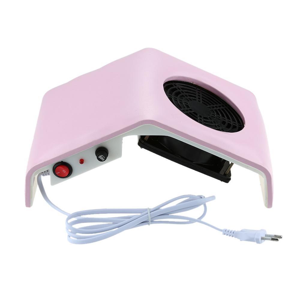 220v Nail Fan Art Salon Suction Dust Collector Machine Vacuum ...